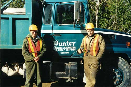 Hunter Haulage and Excavating - Lion's Head, Wiarton, Ontario, Canada